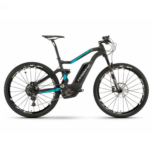 Электровелосипед Haibike (2018) XDURO FullSeven Carbon 8.0 500Wh 11s NX Green